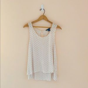 Polka Dot Flowy Top Forever 21 Size Large